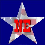 NE Patriotic State Star