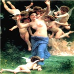 Cupids William Bouguereau 1825-1905