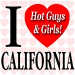 I Love California Hot Guys & Girls