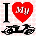 I Love My Cycle/Motorcycle