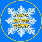I Love It New York In Winter