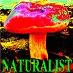 Naturalist Giant Crimson Tide Mushroom