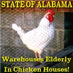 Alabama Warehouses Elderly In Chicken House
