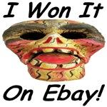 I Won It On Ebay Festival Skull Mask