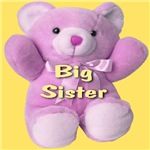 Big Sister Pink Teddy Bear