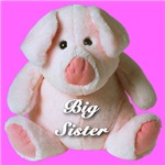 Big Sister Cute Pink Piggy