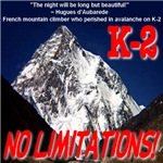 K-2 Memorial No Limitations!