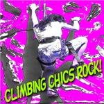 Climbing Chics Rock Sinful Cyan