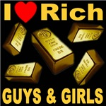 I (Heart) Rich Guys & Girls