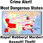 Crime Alert! Most Dangerous States!