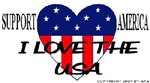 I Love The USA Support America