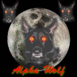 Alpha Wolf Hypnotic Eyes
