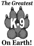 The Greatest K9 on Earth! B&W