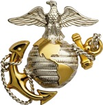 USMC Official Emblem (Front & Back)