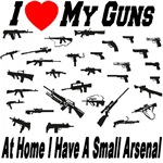 I Love My Guns: Small Arsenal