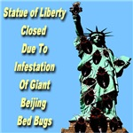 Statue of Liberty Closed Due To Beijing Bed Bugs