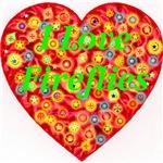 I Love Fireflies Xmas Font