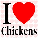 I Love Chickens