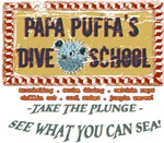 Papa Puuua's Dive School | Beach Bum Scuba Diving T-shirts & Gifts
