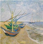 Fishing Boats by Van Gogh