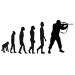 Evolution steps to military