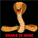 Snake is wise