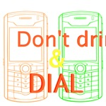 don't drink and dial