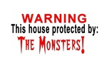 Protected By: Monsters! Weird Stuff!