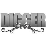 Front Engine Dragster the Digger