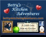 Betty's Kitchen Square Banner