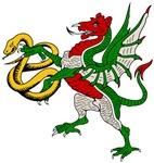 Dragons, dungeons, bears & more fantasy animal art