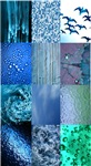 Blue Photography Collage