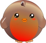 Cute Robin Bird