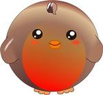 Cute Robin Bird