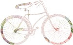 Floral Vintage Bicycle