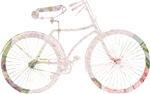 Floral Vintage Bicycle