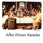 After Dinner Karaoke | Christian Last SupperT-shirts & Gifts for Fine Diners