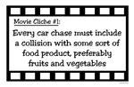 Movie Cliches - Run into Food