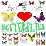 Butterflies Section
