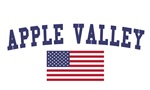 Apple Valley Mn US Flag