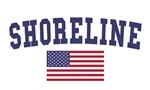 Shoreline US Flag