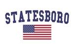 Statesboro US Flag