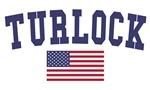 Turlock US Flag