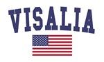 Visalia US Flag