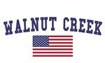 Walnut US Flag