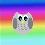 Owl (Rainbow)