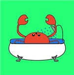 Crab in Tub (Green)