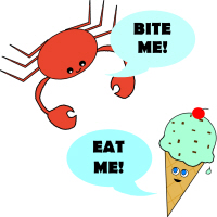 EAT ME BITE ME