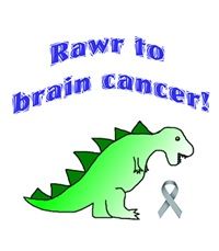 Rawr to Brain Cancer!