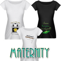 New! Maternity Tops!
